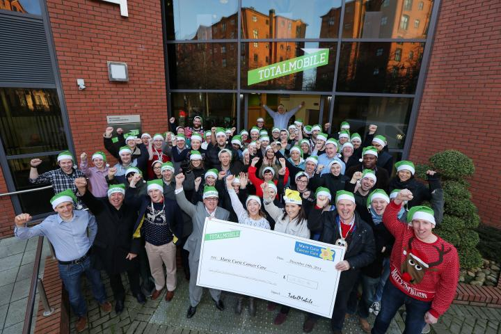 TotalMobile Smashes Charity Fundraising Target to Top £25,000