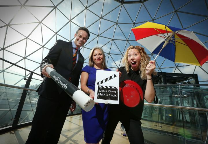 Victoria Square Set For Lights, Camera, Math 'a' Magic