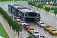 Beat the traffic, take a hover bus