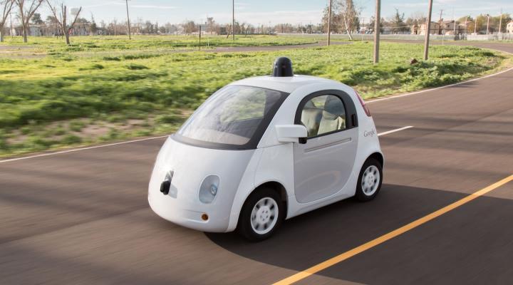 Breakthrough for Google's self-driving cars