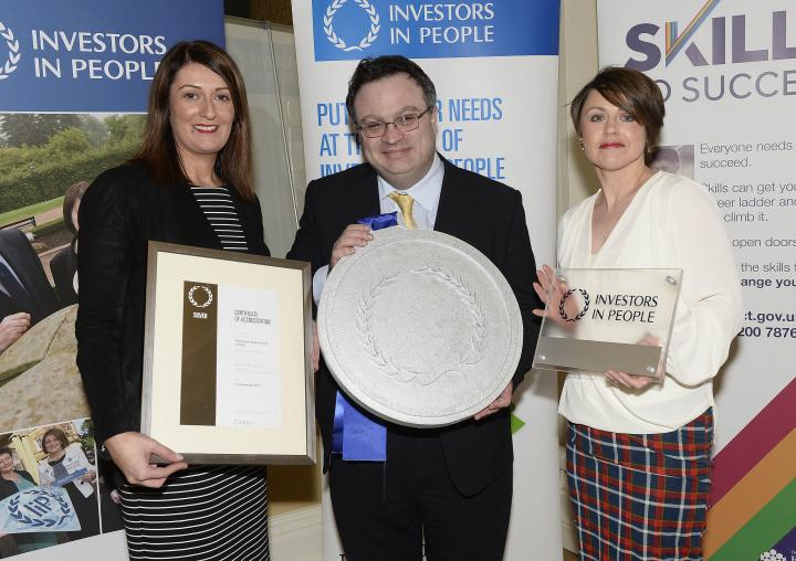 Silver Investors in People award for Derry technology company