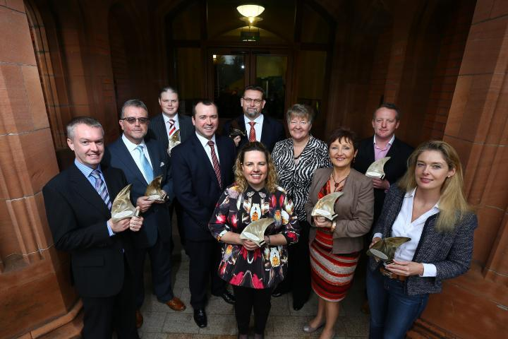 Ulster's Top Firms Crowned in 2014 Ulster Bank Business Achievers Awards